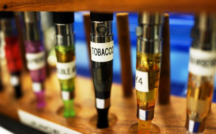 FILE: A variety of electronic cigarette flavours. Picture: AFP