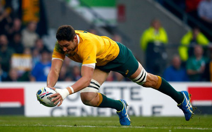 Australia vs Argentina in the Rugby World Cup semifinal at Twickenham on 25 October 2015. Picture: Rugby World Cup @rugbyworldcup.