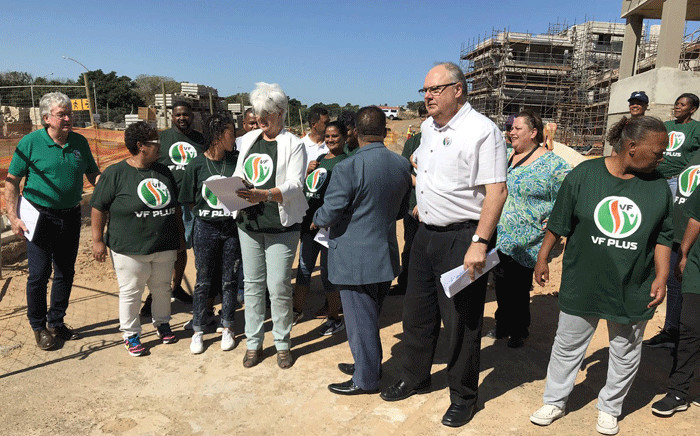 Freedom Front Plus Western Cape leader Corne Mulder says the District Six housing project should have been handled at a provincial - and not national level. Picture: Kevin Brandt/EWN