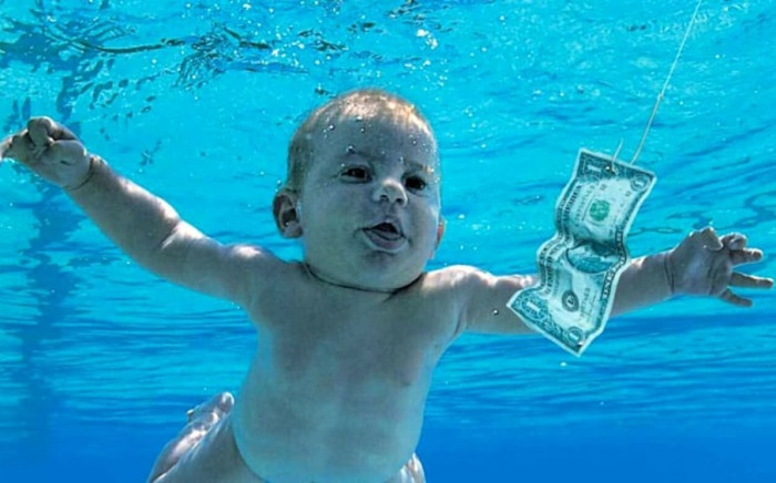 A cropped picture of Nirvana's 'Nevermind' album cover. Picture: Wikipedia