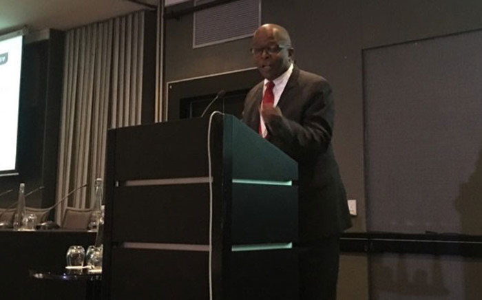 Deputy Finance Minister Mondli Gungubele is at a business dialogue in Sandton on 22 March 2018. Picture: Mia Lindeque/EWN