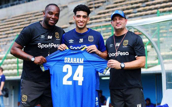 Travis Graham has joined Cape Town City FC. Picture: @CapeTownCityFC/Twitter.