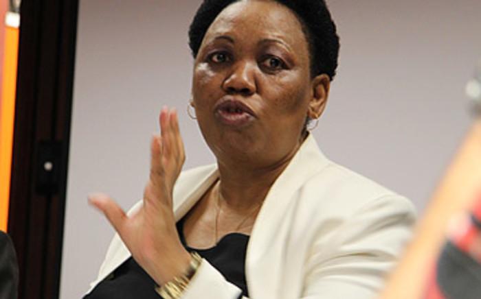 Basic Education Minister Angie Motshekga. Picture: Eyewitness News