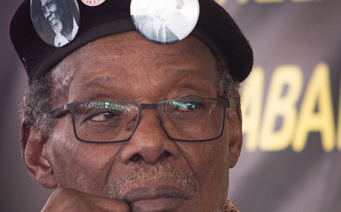 Former leader Mangosuthu Buthelezi on the last day of the IFP conference held at Ulundi in KwaZulu-Natal. Buthelezi stepped down at the conference after 44 years in power.  Picture: Xanderleigh Dookey/EWN