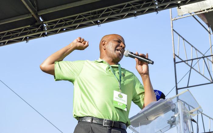 Association of Mineworkers and Construction Union (Amcu) leader Joseph Mathunjwa. Picture:EWN