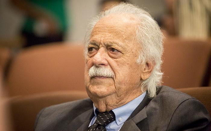 FILE: Human rights lawyer George Bizos attended a memorial briefing for struggle stalwart Ahmed Kathrada at the Nelson Mandela foundation in Houghton, Johannesburg on 28 March 2017. Picture: Reinart Toerien/EWN