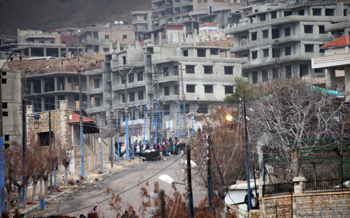A general view for the besieged town of Madaya, in the countryside of Damascus, Syria, on 14 January 2016. Picture: EPA/Youssef Badawi.