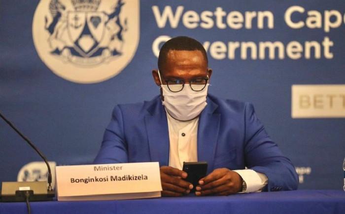 FILE: Western Cape Transport MEC Bonginkosi Madikizela at the taxi lekgotla in Cape Town on Thursday, 15 October 2020. Picture @MbalulaFikile/Twitter