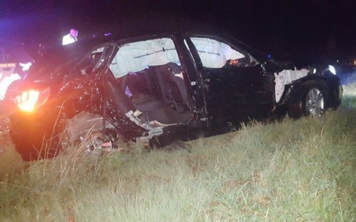 Deputy Minister of Cooperative Governance and Traditional Affairs, Obed Bapela, and his driver were injured in Fochville. Picture: @ER24EMS