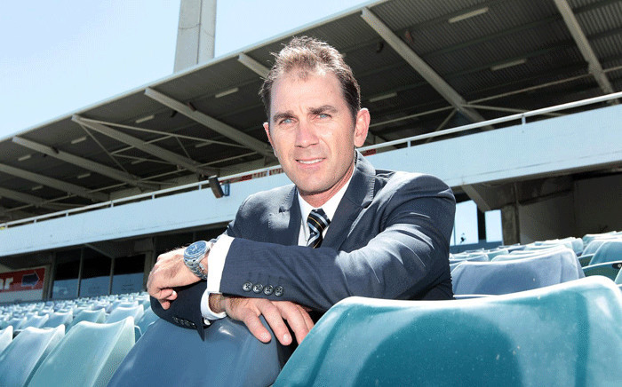 Australian head coach Justin Langer. Picture: @ICC/Twitter.
