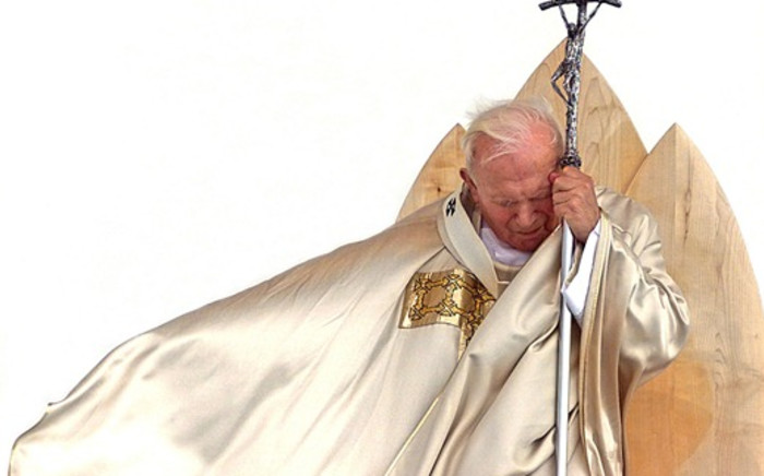 Pope John Paul II. Picture: AFP/Gabriel Bouys