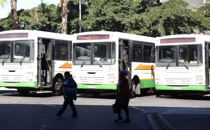 FILE: Golden Arrow buses parked at the Cape Town bus terminal. Pictures: Bertram Malgas/EWN