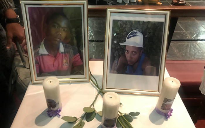 Two of the victims of the Denel munitions explosion in Somerset West, Jason Hartzenberg (left) Jamie Haydricks (right). Picture: Kevin Brandt/EWN