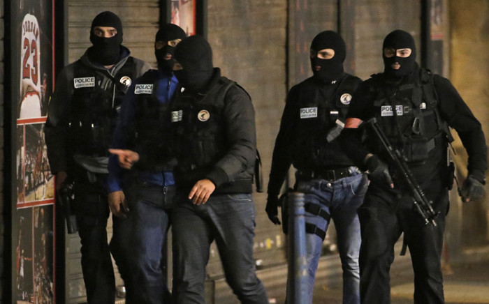 FILE: Members of French police special forces. Picture: AFP.
