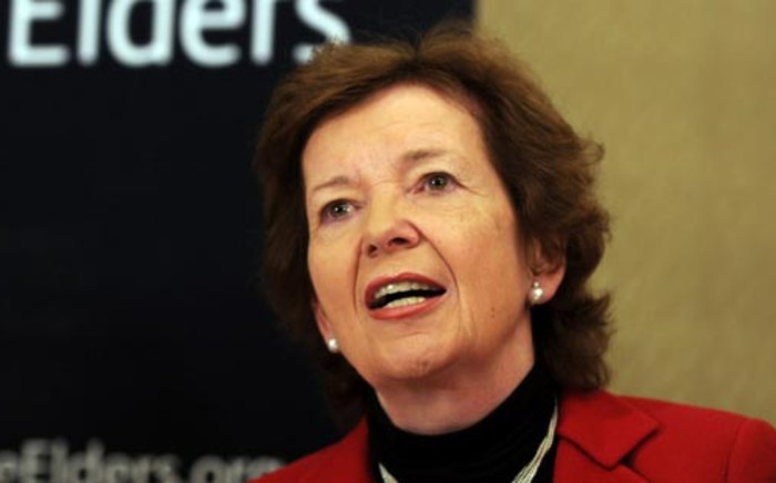 Mary Robinson, United Nations High Commissioner for Human Rights. Picture: AFP
