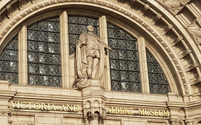 The Victoria and Albert Museum in London. Picture: Janice Healing/EWN