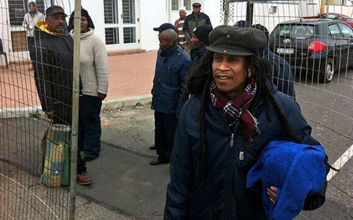 Some activists are leaving the District Six Housing Project on 21 June 2013. Picture: Graeme Raubenheimer/EWN
