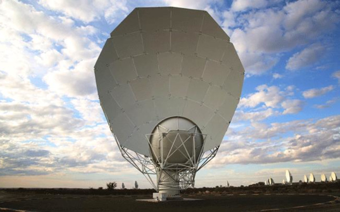 FILE: The Square Kilometre Array is a large multi-radio telescope is a project hosted by Australia and South Africa. Today 64 operational radio telescopes will be launched at the SKA site outside Carnarvon. Picture: Kevin Brandt/EWN.