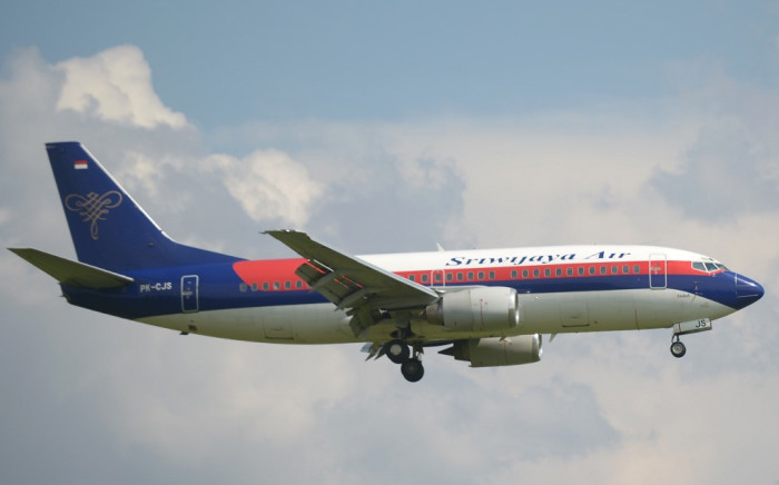 A Sriwijaya Air Boeing 737-300 aircraft. Picture: AFP.