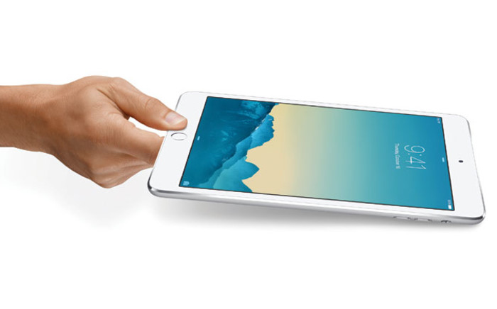 Apple introduced the iPad mini 3 on 16 October 2014. Picture: EPA.