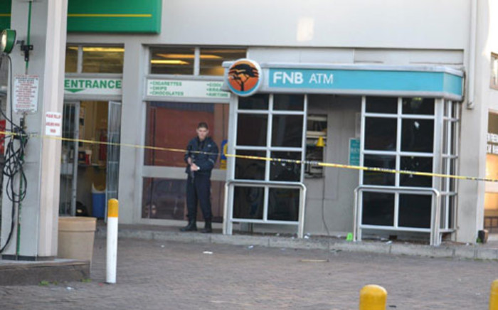 FILE: An FNB ATM was blown up at a BP garage in Athlone Industria. Picture: Supplied.