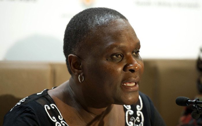 National Police Commissioner Riah Phiyega. Picture: GCIS.