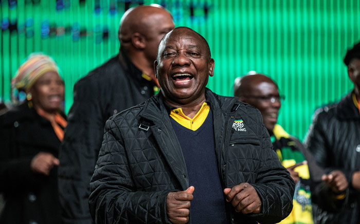 Cyril Ramaphosa. Picture: AFP