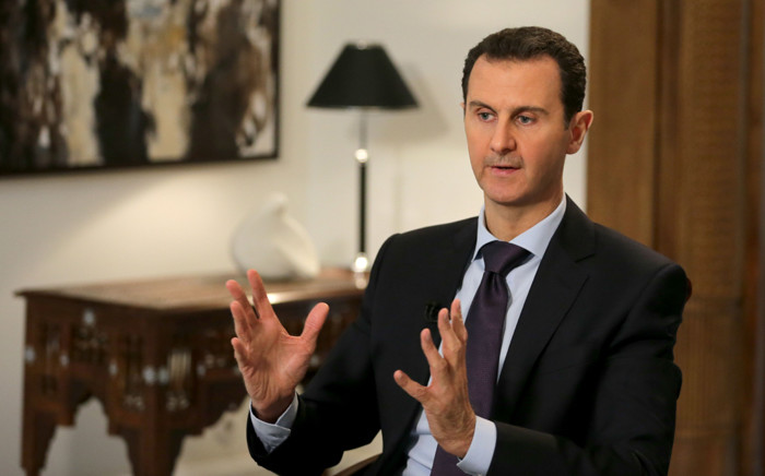 FILE: A file picture shows Syrian President Bashar Assad giving an interview to the AFP news agency, in Damascus, Syria, 11 February 2016. Picture: EPA