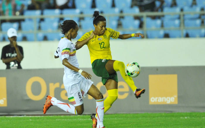 Desiree Ellis' national football team beat Mali 2-0 in the semi-finals of the Women's Africa Cup of Nations to book their place in the biggest showpiece in world football. Picture: CAF online
