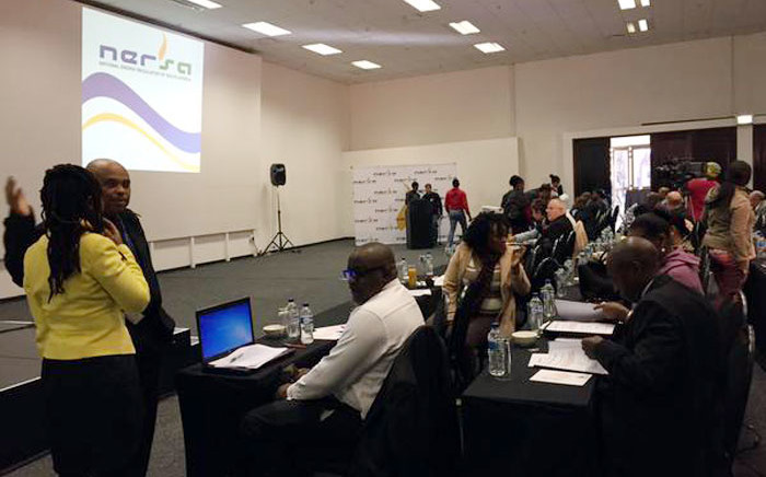 Nersa's public hearings for Eskom's application for a 25,3 percent tariff hike in Nasrec on 23 June 2015. Picture: Gia Nicolaides/EWN
