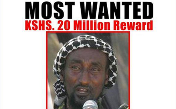 Man wanted in Kenya for Garissa attack. Picture: Interior CNG Ministry Twitter