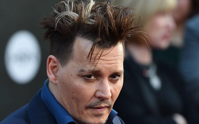 US actor Johnny Depp. Picture: AFP