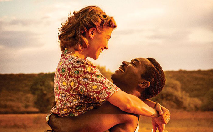 The film 'A United Kingdom' starring David Oyelowo and Rosamund Pike. Picture: Twitter @AUnitedKingdom.