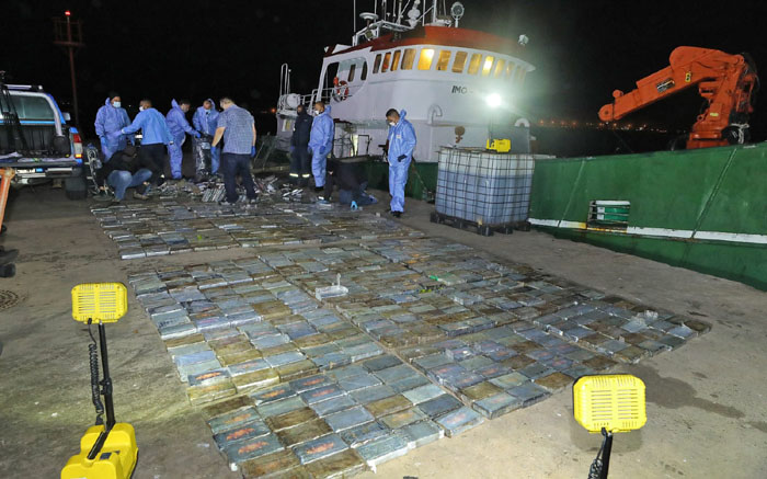 R500mn Saldanha Bay cocaine bust may have links to South America - Eyewitness News