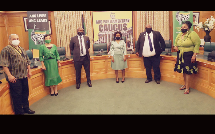 5 new ANC MPs sworn-in to replace those lost to COVID-19 - Eyewitness News
