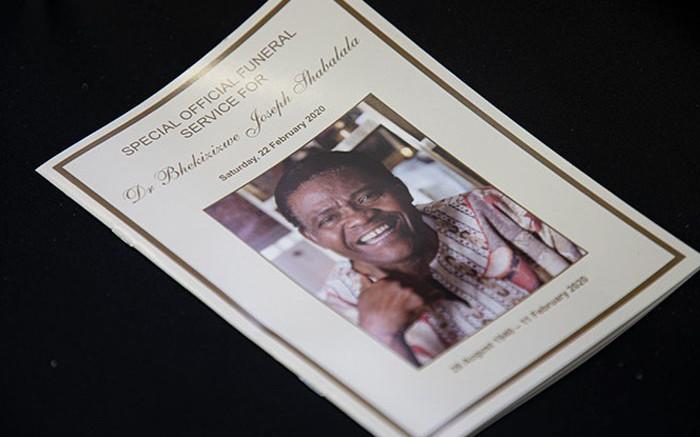 WATCH LIVE: Ladysmith Black Mambazo founder Joseph Shabalala's funeral under way - Eyewitness News