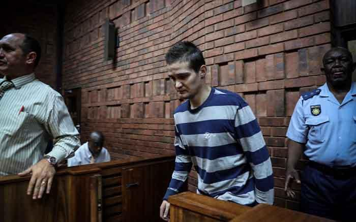 Getuiebesonderhede wat Nicholas Ninow in die vrouebadkamer gevind het - EWN