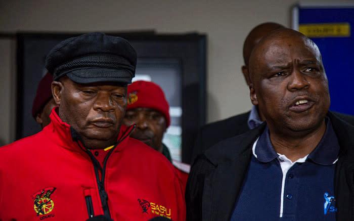 Staking van Cosatu, die gelofte van die banksektor in Sasbo, sal plaasvind - EWN