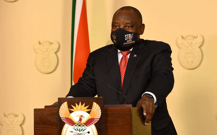 Ramaphosa: We're in a war and our rights will inadvertently be restricted - EWN