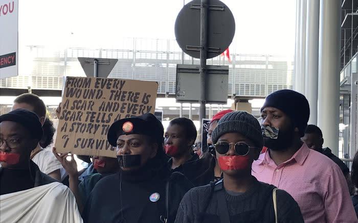 'N Week van nasionale betogings en pynlike herinneringe, maar tog gaan GBV voort - EWN