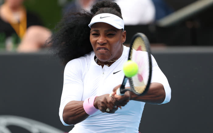 Rogers stuns Serena at Top Seed Open - EWN