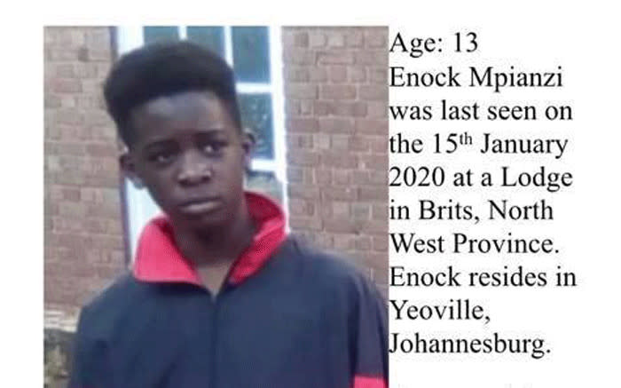 Parktown Boys High pupil Enoch Mpianzi. Picture: Facebook
