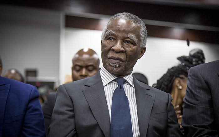 Thabo Mbeki: ANC het 'n groter probleem rondom geld - EWN