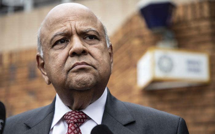 EFF calls on Ramaphosa to remove Gordhan from Cabinet - Eyewitness News