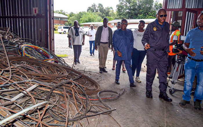 Prasa employee, 2 others in court for R2m cable theft - Eyewitness News