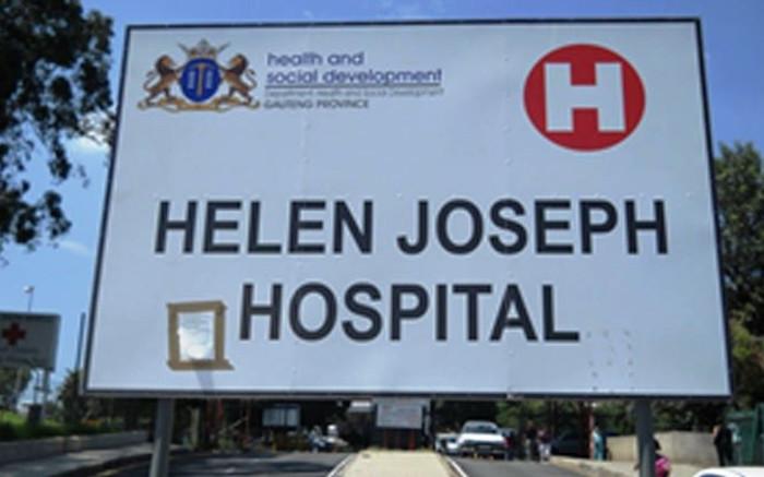 JHB Water: Internal burst at Helen Joseph Hospital disrupted water supply - EWN