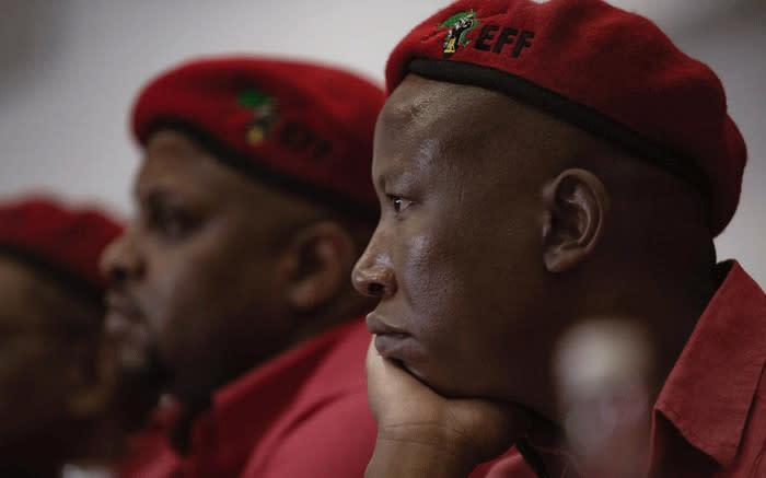 eNCA pulls out of EFF congress as Malema lambastes 'propaganda' media - Eyewitness News