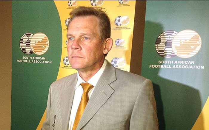 Former Bafana skipper Tovey ditched as South Africa technical director - EWN