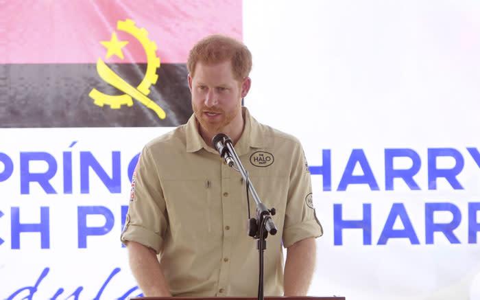 'Sad' Prince Harry says no other option but to end royal role - Eyewitness News