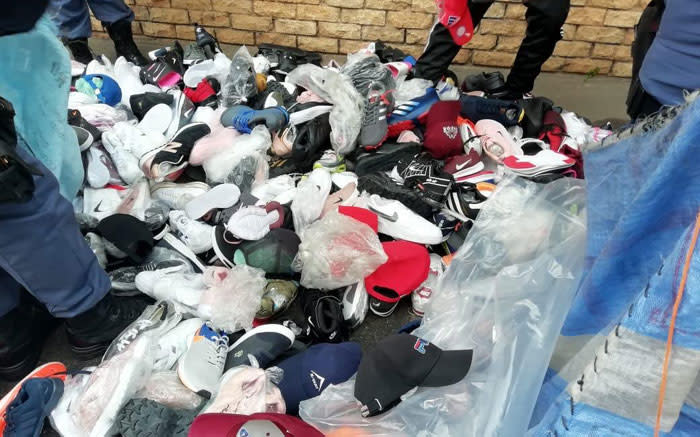 Counterfeit goods worth close to R7m recovered by police in EC - EWN